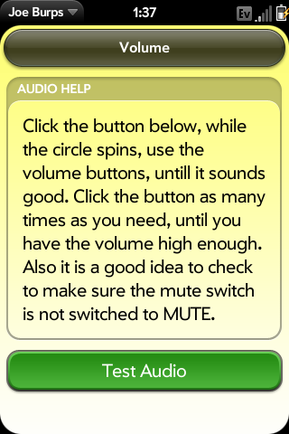 Volume problems? Adjust it here!